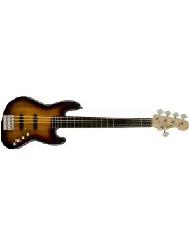 Deluxe Jazz Bass® V Active (5 String), Ebonol Fingerboard, 3-ColorSunburst