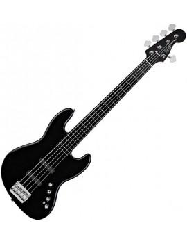 Deluxe Jazz Bass® V Active (5 String), Ebonol Fingerboard, Black