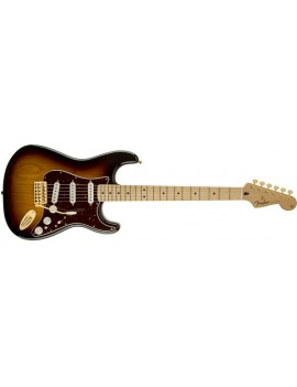 Deluxe Players Stratocaster® Maple Fingerboard, 3-Color Sunburst