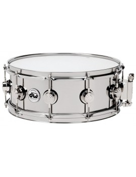 DRUM WORKSHOP RULLANTE ACCIAIO INOX 13 x 6,5