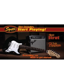 Affinity Series™ Stratocaster® PACK with Fender Frontman® 10G Amp, Black