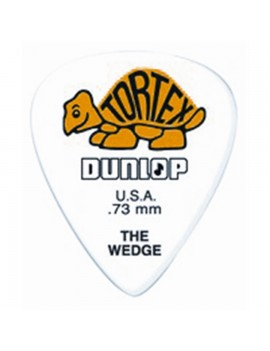DUNLOP PLETTRO 424P.60 TORTEX Wedge Orange .60mm
