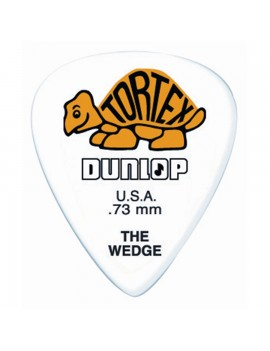 DUNLOP PLETTRO 424P.73 TORTEX Wedge Yellow .73mm