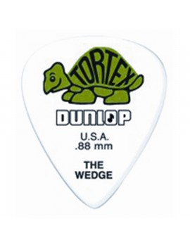 DUNLOP PLETTRO 424P.88 TORTEX Wedge Green .88mm