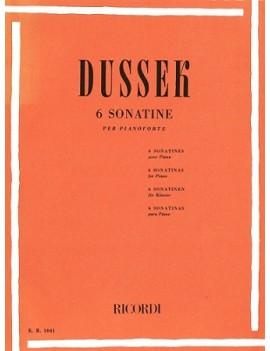 DUSSEK 6 Sonatine Op. 20