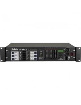 DX610 Unità di potenza dimmer digitale DMX 6 canali da 10A/ch max