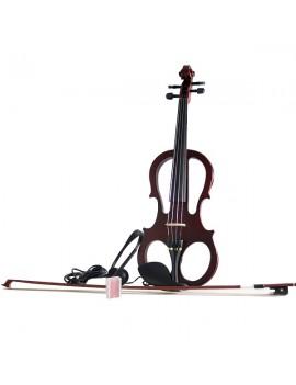 E-MASTER Violino elettrico 4/4 con astuccio