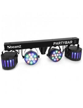 EGO-AE3238 Partybar2 2x PAR + 2x Derby