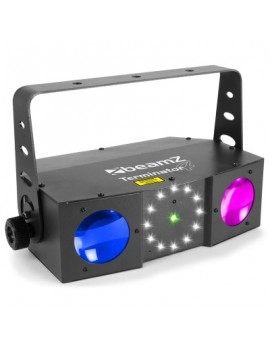 EGO-AE3716 Terminator IV LED Double Moon with laser and strobe