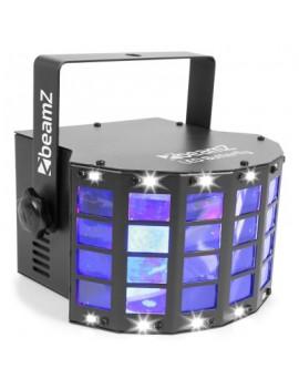 EGO-AE3728 LED Butterfly 3x3W RGB, SMD Strobo