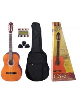 EKO CS-5 PACK chitarra classica 3/4 con borsa con tracolla, pitch pipe, 3 plettri