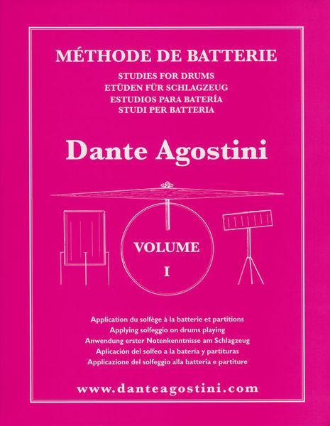 Agostini Méthode de Batterie - Volume 1