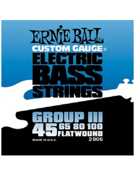 ERNIE BALL 2806 - Group III Flatwound