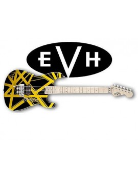 EVH Stripes Black/Yellow