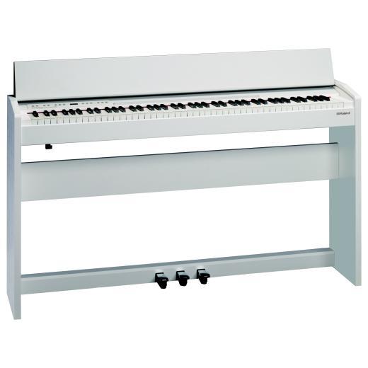 F140R-WH Pianoforte digitale Bianco