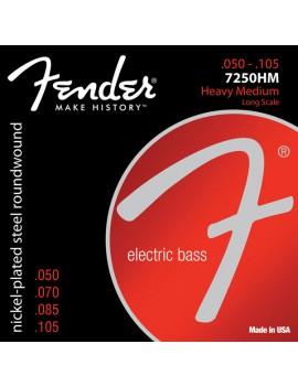 Fender 7250HM 050-105 Nickel-Plated Steel Long-Scale Muta per basso elettrico
