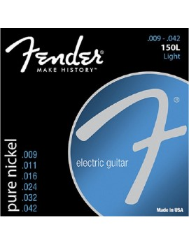 Fender Muta chitarra elettrica 150L 009-042 150s Pure Nickel Ball End