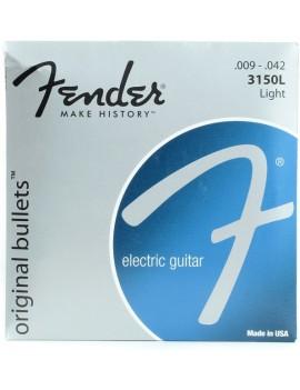 Fender Muta chitarra elettrica 3150L 009-042 Original Bullets Pure Nickel