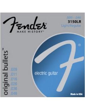 Fender Muta chitarra elettrica 3150LR 009-046 Original Bullets Pure Nickel