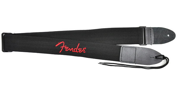 FENDER TRACOLLA 2 Black with Red Logo
