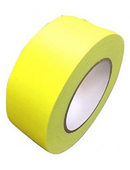 GAFFA TAPE NEON GIALLO 50MM X 25M