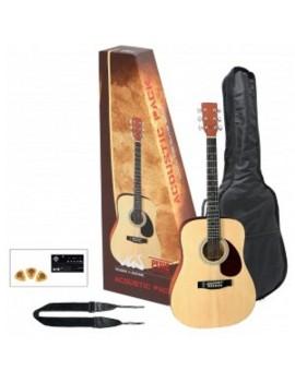 GEWApure Chitarra acustica VGS Acoustic Pack Chitarra, natural