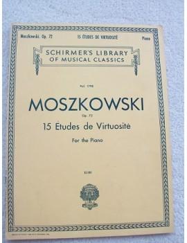 15 Etudes de Virtuositè, Op 72