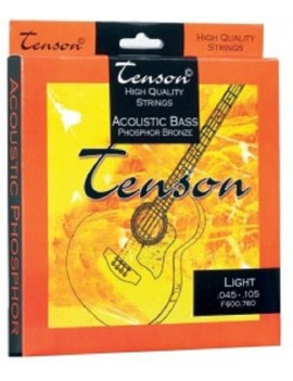 GEWApure Corde per basso acustico Tenson Phosphor Bronze .045-.105,Medium/Light Set+