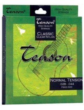 GEWApure Corde per chitarra classica Tenson Nylon .028-.044,High Tension Set+