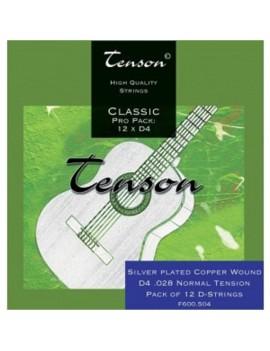 GEWApure Corde per chitarra classica Tenson Nylon High tension Conf. +