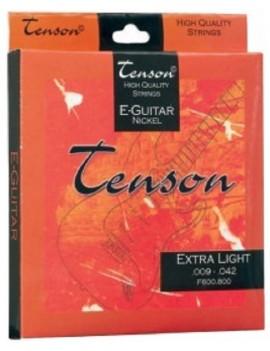 GEWApure Corde per chitarra elettrica Tenson Nickel .010-.046,Regular Light Set+