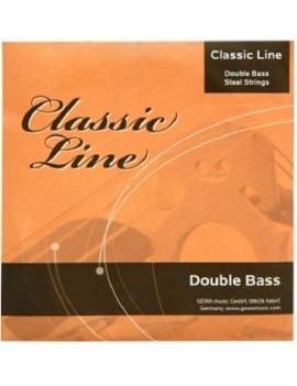 GEWApure Corde per contrabbasso Classic Line 1/2 La