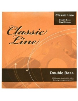 GEWApure Corde per contrabbasso Classic Line 1/4 La