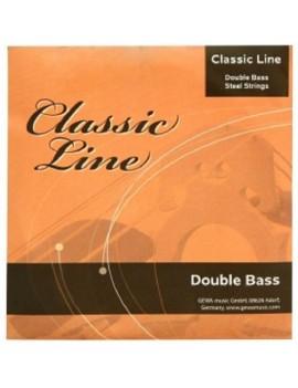 GEWApure Corde per contrabbasso Classic Line 1/8 La