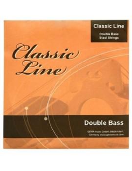 GEWApure Corde per contrabbasso Classic Line 1/8 Mi
