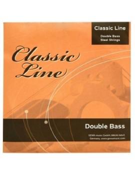 GEWApure Corde per contrabbasso Classic Line 1/8 Re