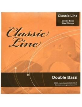 GEWApure Corde per contrabbasso Classic Line 3/4 La