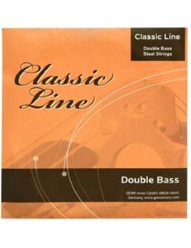 GEWApure Corde per contrabbasso Classic Line 3/4 Re