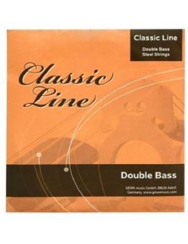 GEWApure Corde per contrabbasso Classic Line 4/4 La