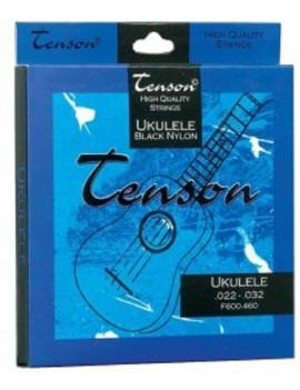GEWApure Corde per uklulele Tenson Black Nylon .022-.032 Set+