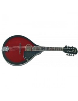 GEWApure Mandolino Folk Tenson Ovale A-1 Black Cherry