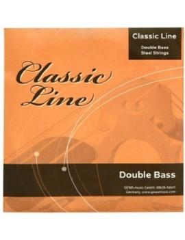 GEWApure Set corde per contrabbasso Classic Line 1/8