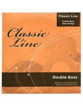 GEWApure Set corde per contrabbasso Classic Line 4/4