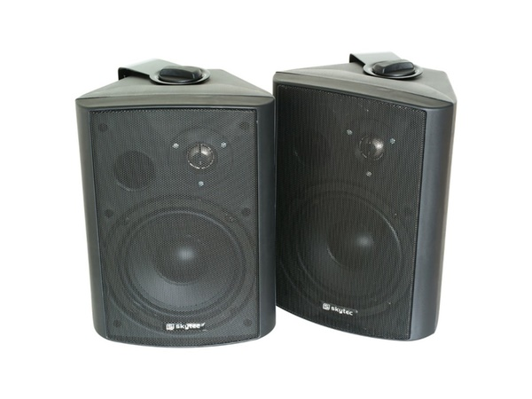 2-way Loudspeaker Set 120W Black