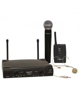 GM905HP RAEE03-RADIOMICROFONO VHF 1 mic gelato + head set