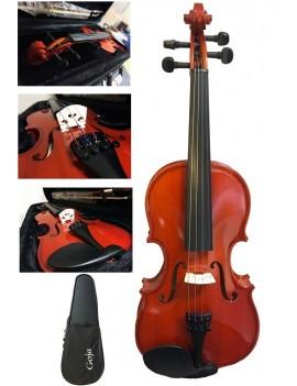 GOJA Violino da studio 1/4, piano armonico in legno massello