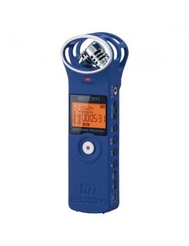 H1/LU blu- registratore stereo digitale c/scheda microSD 2GB inclus