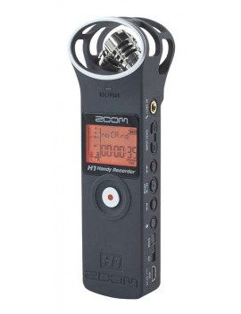 H1/MB -Black  registratore stereo digitale c/scheda microSD 2GB inclus