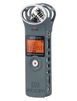 H1/MG  grigio - registratore stereo digitale c/scheda microSD 2GB inclus
