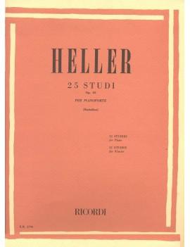 HELLER S. 25 STUDI PER PIANOFORTE OP. 47